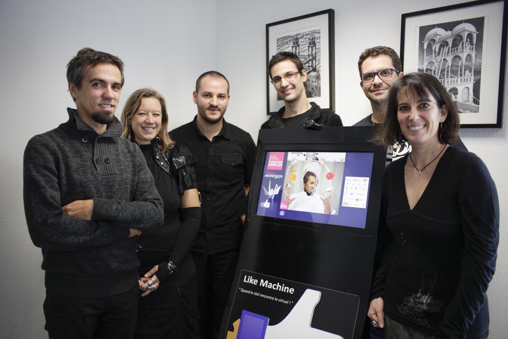 15 ans d'expérience web pour l'équipe 2le dans le Point Eco Alsace de mars avril 2016