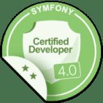 certifié Symfony 4