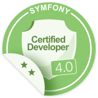 badge certification symfony